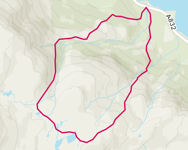 Country Walking: Coire na Glas Leitre, Highland