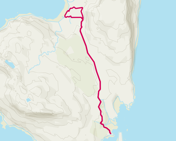 Eigg - Cleadale to Pier and back