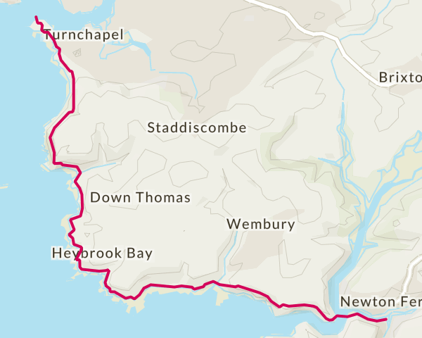 Plymouth to Noss Mayo